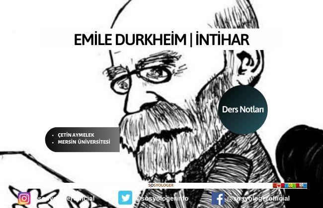 durkheim-intihar