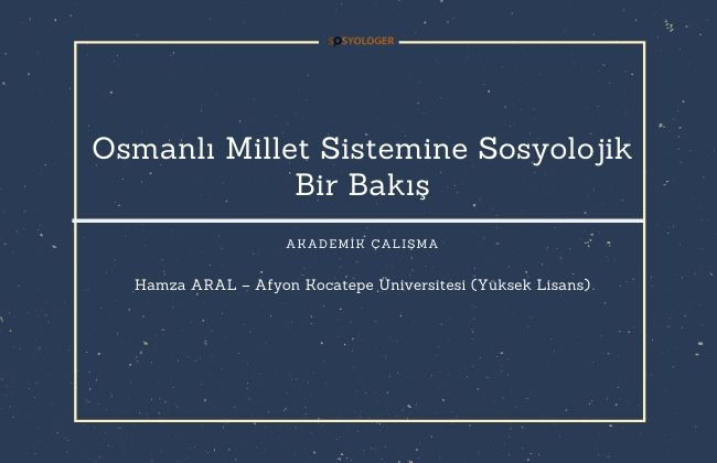 osmanli millet sistemi hamza aral