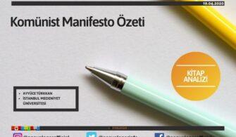 Komünist Manifesto Özeti