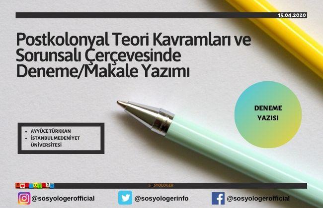 postkolonyal teori ayyüce türkkan