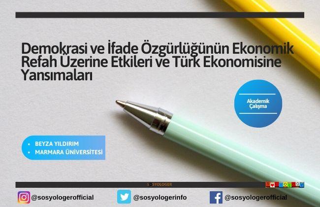 türk ekonomisi refah ozgurluk