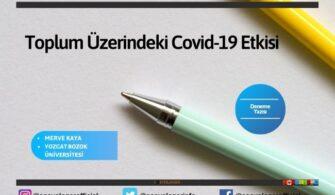 Toplum Üzerindeki Covid-19 Etkisi
