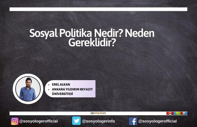 sosyal politika nedir