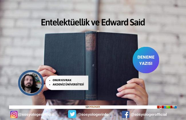 entelektuellik edward said