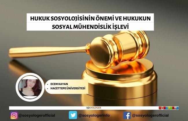 hukuk sosyolojisinin onemi