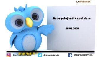 #sosyolojiaöfkapatılsın Hashtag Çalışması