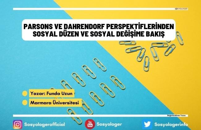 parsons dahrendorf kuramlari