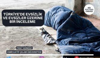 Türkiye'de Evsizlik ve Evsizler Üzerine Bir İnceleme   Bir Politika Önerisi