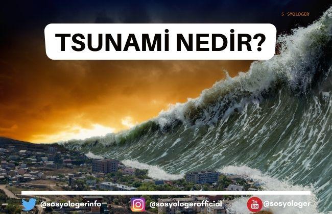 tsunami ne demek