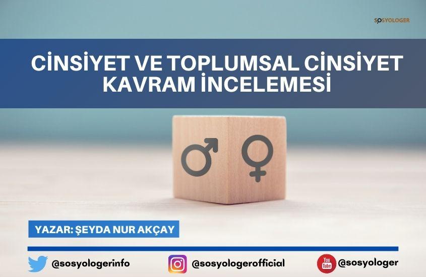 Cinsiyet Ve Toplumsal Cinsiyet Kavram Incelemesi