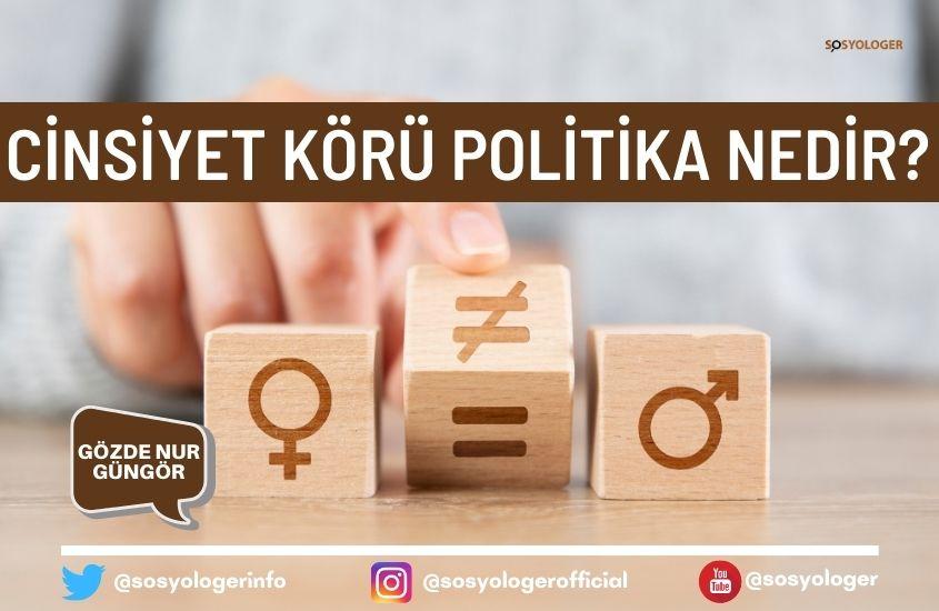 cinsiyet koru politika