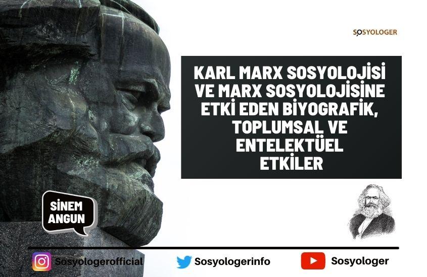 Karl marx sosyoloisi