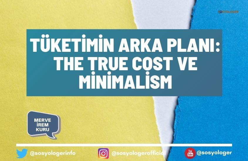 the true cost ve minimalism