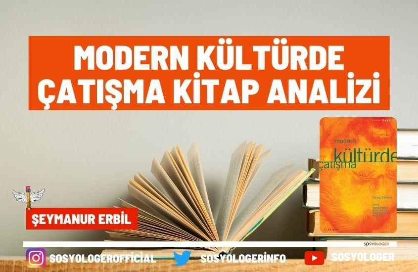 Modern kültürde çatışma kitabı analizi
