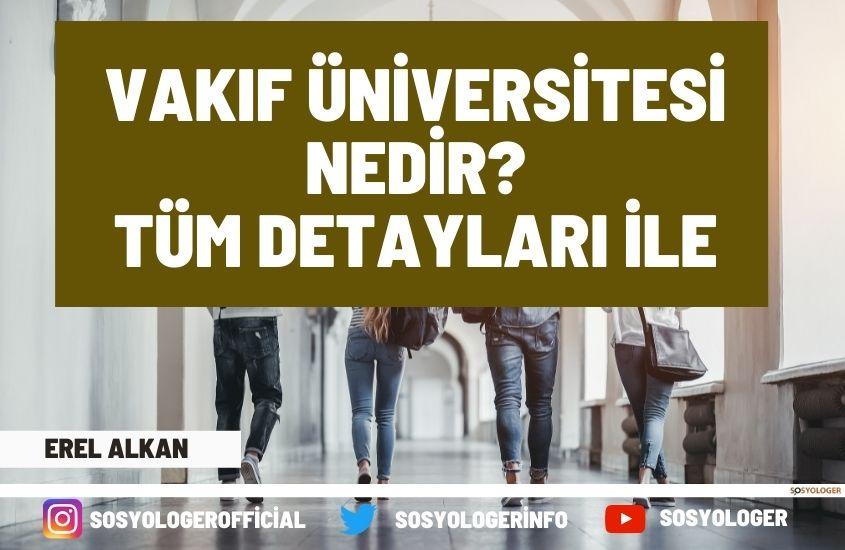 Vakıf Üniversitesi Nedir