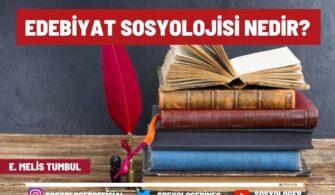 edebiyat sosyolojisi nedir